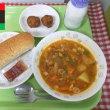 11月22日の給食 リビアの料理