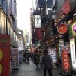 日本人と韓国人…韓国ソウル市内