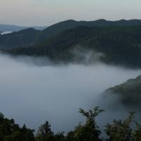 芦北町黒岩の雲海