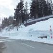 畑沢で今冬3回目の雪降ろし
