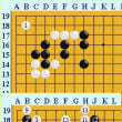 囲碁死活1059官子譜