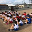 寒河江市立陵南中学校ランニング教室開催