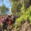 12 白滝山・大師山(459・475m:山口県岩国市)縦走登山  「くぐり岩」に