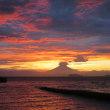 久しぶりに富士山が顔を出す。
