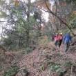 ㉞ 黒滝山~白滝山縦走登山 : 巻道