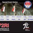 インドネシア独立72周年記念局 YB72RI