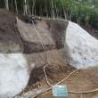 集中豪雨の対策 ~施工中の崩壊~