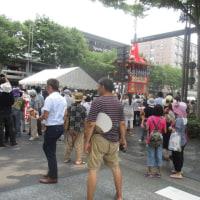 炎天の祇園祭、山鉾巡行
