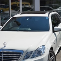 2011y BENZ E250 AVG WAGON AMGスポーツPKG。
