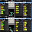 2018 05/23-05/24 関東は曇から雨模様:スマホQZSS/GNSS: U-Que, Ublox, Raijin, Zenfone2 Intel 24時間モニタリング