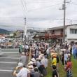 橋本まさる遊説の応援中です。