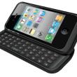 iPhone 4をスライドキーボード付きにするケース