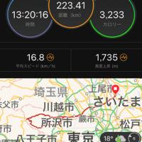 奥多摩周遊ライド 223km(後編)