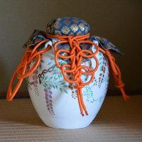 茶壺を飾りお稽古、小春日和を外国では・・・