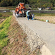 農道のコンクリート補修