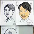 ディフォルメ似顔絵を描く