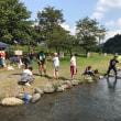 【旭会】社内イベントで「マス釣りとベーベキュー」してきました!!(中津川マス釣り場)