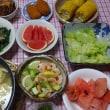 猛暑の中、自宅でご飯