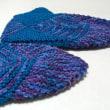 手編み靴下のプレゼント