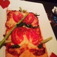 ハートのトランプピザ