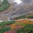 乗鞍雲海と紅葉(Ⅰ)