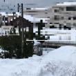 大雪の福井県坂井市です4