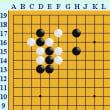 囲碁死活1057官子譜