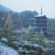 雪の香山公園