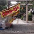 安江八幡宮の秋祭り。昨日。