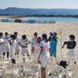 第2回ビーチサッカー沖縄カップ女子カテゴリー決勝 前半終了