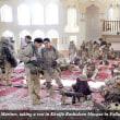 イラク ファルージャのモスクで休む米軍