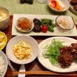 常備菜&鰯のつみれ揚げの夕ご飯