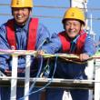 乗船実習出航式