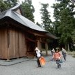 村山浅間神社の百日紅