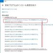 Windows10 累積更新 (KB4093105) が配信されてきました。ちょと厄介なプログラムです。。。