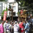 近所の八幡さんの秋季大祭