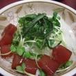 海鮮丼~♪(お魚食べています~♪)