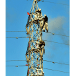 SK君の写真館。鉄塔で高所作業。[高所恐怖症の方閲覧注意です]