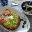 ツナ&キャベツのハーブソルトトースト