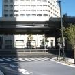 10月の赤坂インターシティAIR:敷地北側とオフィス入口(六本木通り)周辺 PART2