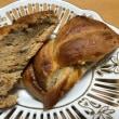 アーモンドとあんずジャムのパン