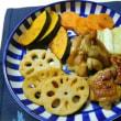 鶏肉と根菜のオイマヨ・グリル焼き☆