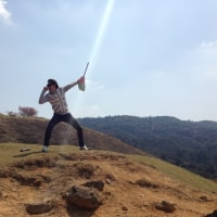 尖閣上陸のTOKUMA//若草山山頂でUFOから光線が照射!