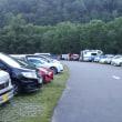 富山県有峰林道折立です