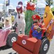 車椅子も華麗に変身 障害者らパレード