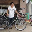 自転車世界一周に出発