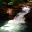 河辺町河北林道伏伸の滝