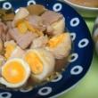 今日は、ストック品の大根で 「ブリ大根」 そして、「茹で卵と豚ロース肉で煮物 」♪