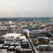 石川県庁19階展望台からの景色。
