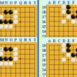 囲碁死活802官子譜